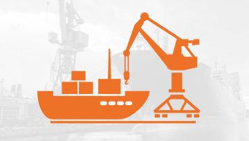 造船厂和海上产业