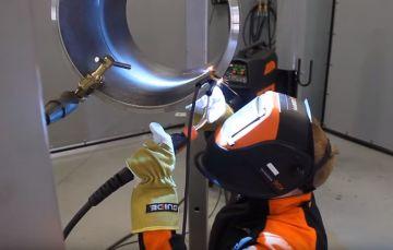 生产管道焊接