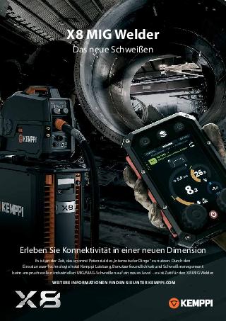 X8 MIG Welder flyer - DE
