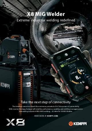 X8 MIG Welder leaflet - EN