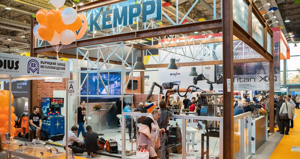 «Кемппи Россия» приняла участие в Weldex 2018