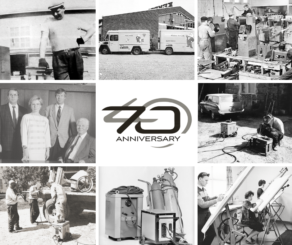 Kemppi celebrates 70 years of innovation in welding