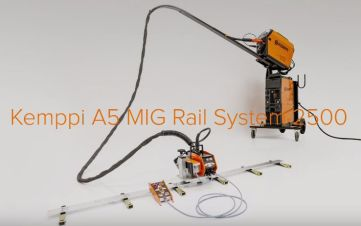 A5 Sistema MIG de Riel 2500