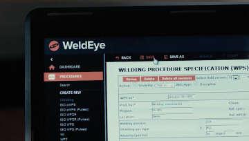 Logiciel de gestion du soudage WeldEye