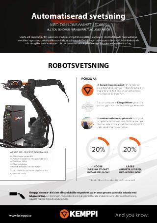 Automation leaflet - SE