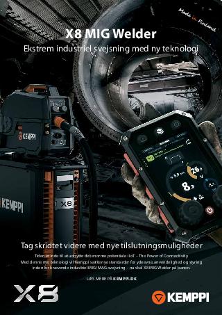 X8 MIG Welder leaflet - DK
