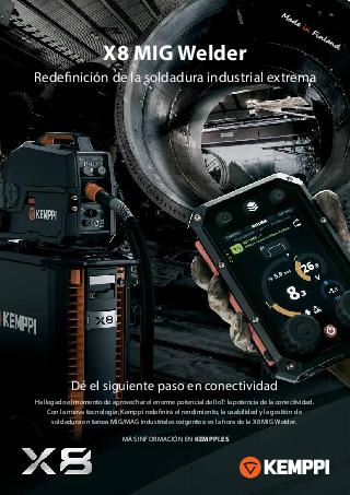 X8 MIG Welder leaflet - ES