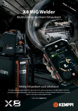 X8 MIG Welder -esite - FI