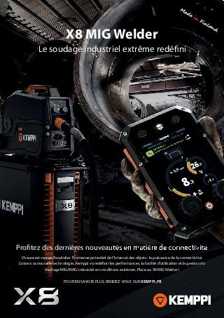 X8 MIG Welder leaflet - FR