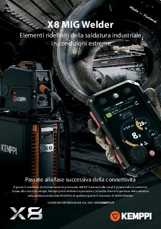 X8 MIG Welder leaflet - IT