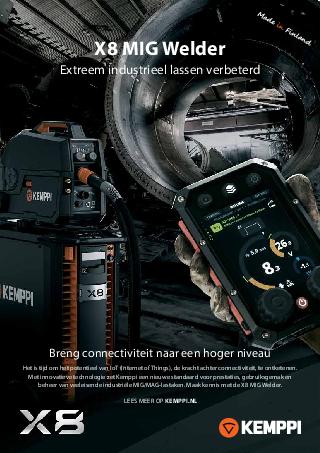 X8 MIG Welder leaflet - NL
