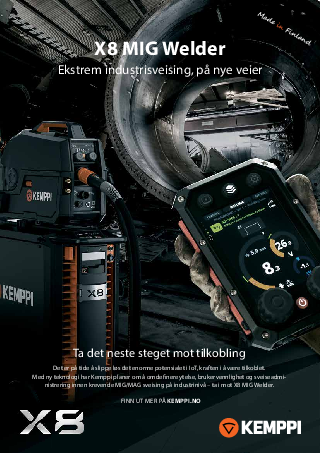 X8 MIG Welder leaflet - NO