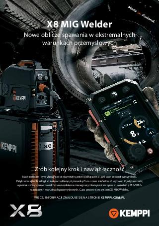 X8 MIG Welder leaflet - PL