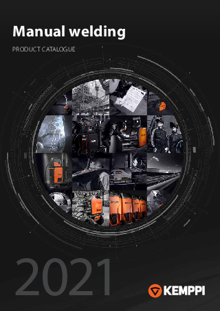 Manual welding catalogue - EN