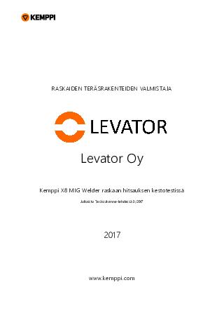 Case - Levator, Finland - FI