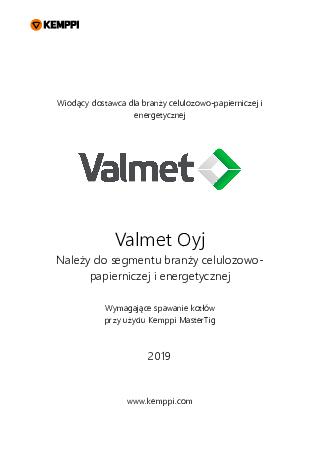 Case - Valmet, Finland - PL